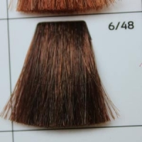 6/48 Dark blond coppery-mahogany  темно-русый медно-махагоновый