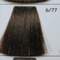 6/77 Dark blond brown intensive темно-русый насыщенный коричневый