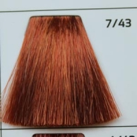 7/43 Coppery-golden blond русый медно-золотистый