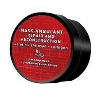Маска К3: кератин+креатин+коллаген MASK SUPPORT and RECONSTRUCTION (200 ml)
